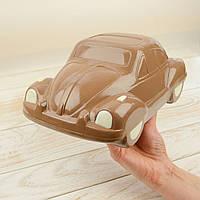 "Шоколадная фигура ""Машина ЖУК"", ЭЛИТНОЕ сырье. Размер: 145х260х100мм, вес 970г, фото 1"