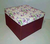Коробка подарочная 24х24х16, фото 1