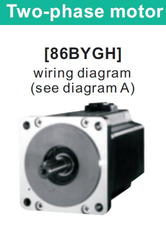 86BYGH150-J(NEMA 34) двухфазный шаговый двигатель