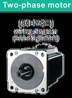 86BYGH078(NEMA 34) двофазний кроковий двигун, фото 1