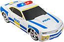 Игровая автомодель Chevrolet Camaro SS RS (Police) белый (свет. и звук), М1:24, 2шт. бат. АА в компл, фото 2