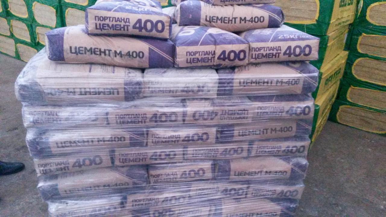 Цемент М 400  Портланд 25 кг
