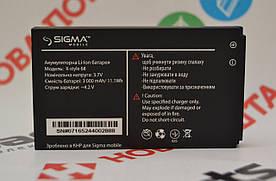 Оригинальный Аккумулятор АКБ (Батарея) для Sigma X-style 68 (3000 mAh 3.7V)