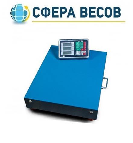 Весы товарные (торговые) ПРОК ВТ-600-WiFi (600 кг, 500*600), фото 2