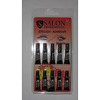 Клей для ресниц Salon Professional, черный 10шт./уп.
