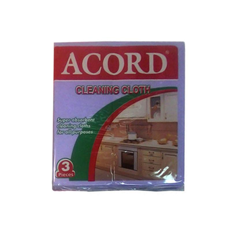 Салфетки для уборки Acord универсальные, 3 шт.