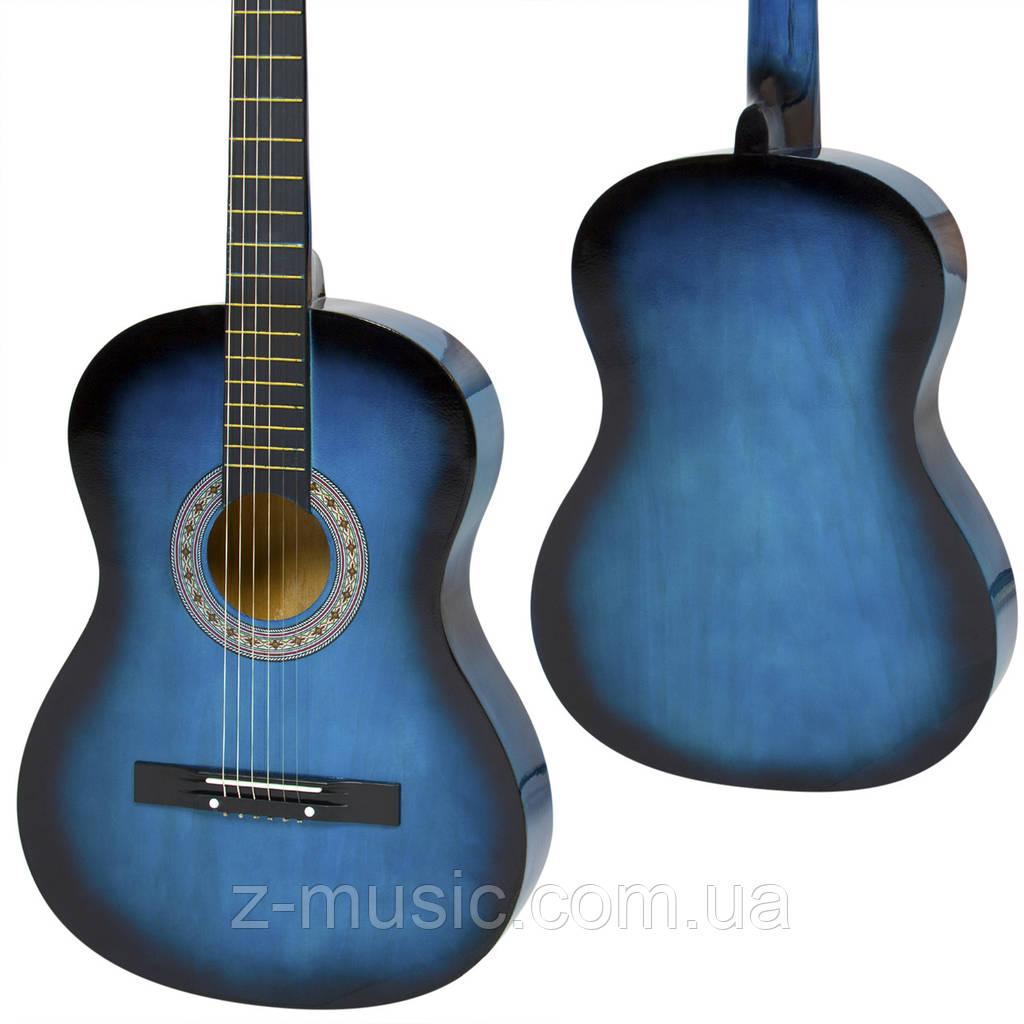 Гитара акустическая LAGRIMA + (Каподастр, Медиатор, 1-я струна).