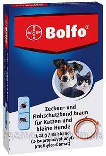 Ошейник Больфо (Bolfo) от блох и клещей для котов и мелких собак, 35 см (Bayer)