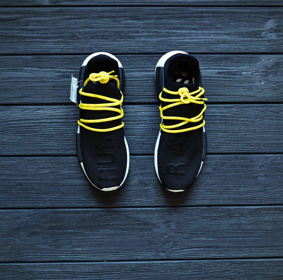 buy popular 55d34 23625 Мужские Кроссовки Pharrell Williams x adidas Originals NMD 'Human Race' –  'Black' : продажа, цена в Киеве. кроссовки, кеды повседневные от