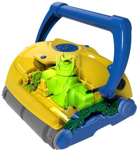 устройство робот–пылесоса Aquabot Viva Go