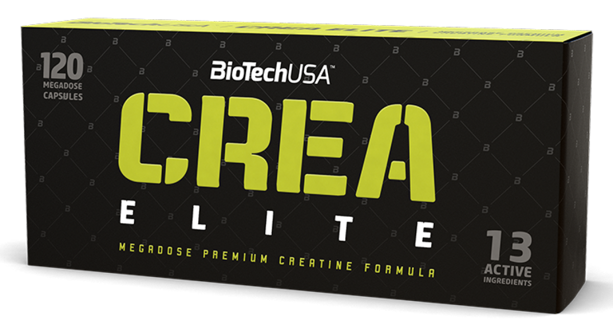 BioTech USA Crea Elite 120 caps
