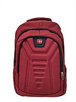 Городской рюкзак с USB 23L MK1982 Red, фото 1