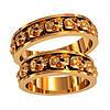 Золотое обручальное кольцо 801440_