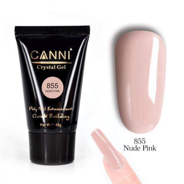 Полигель CANNI №855 телесный розовый