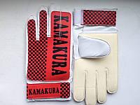 Рукавички воротарські КАМАКУРА червоно-білі