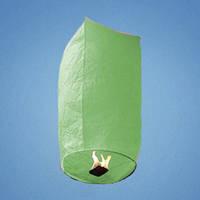 Небесный фонарик Kissul зеленый купол