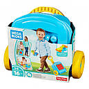 Переносной чемоданчик с конструктором (16 дет.) Mega Bloks 1+, фото 3