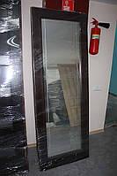 Дверное полотно, с зеркалом, в массиве сосны (Д-41)