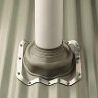 Багатоступінчастий покрівельний прохідний елемент Dektite Premium на металочерепицю, фото 1