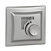 Термостат комнатный с режимом охлаждения Алюминий Sedna Schneider, SDN6001160