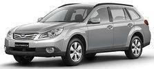 Коврики автомобильные в салон Subaru Outback IV