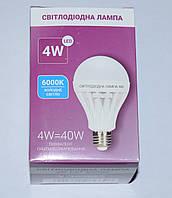 Светодиодная лампа LED BULB 4W 6000K