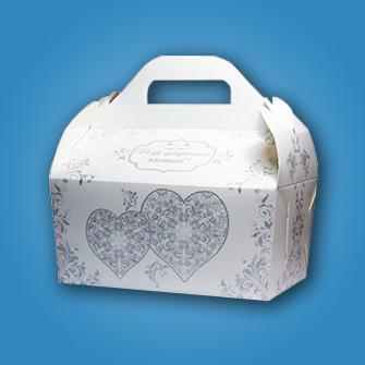 Свадебная коробочка для каравая и сладостей Радика (RC-08)