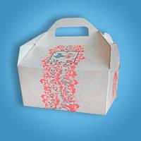 Свадебная коробочка для каравая и сладостей Радика (RC-27)