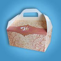 Весільна коробочка для короваю і солодощів Радика (RC-29)