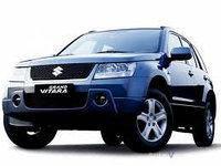 Дефлектор капота (мухобойка, отбойник капота) Suzuki Grand Vitara 2005 - 2011