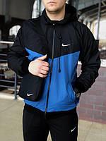 Nike Windrunner Jacket (Windbreaker), черно-синия, фото 1