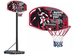 Мобильная баскетбольная стойка Hudora (210 - 260 см), баскетбольное кольцо, фото 2