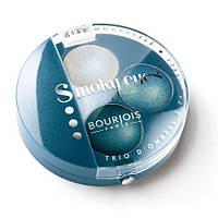 Bourjois тени для век smoky eyes запеченные тройные , фото 1