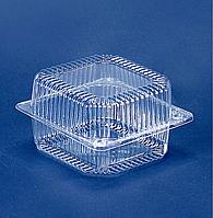ПС 100 пластиковый контейнер для пищевых продуктов, объём 910 мл, ящик 500 штук