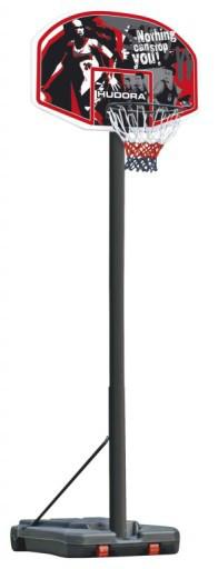 Мобильная баскетбольная стойка Hudora (210 - 260 см), баскетбольное кольцо