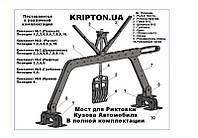 Мост для рихтовки кузова Автомобиля споттером (Комплект №1), фото 1