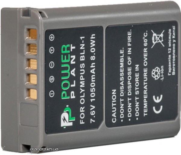Аккумулятор (батарея) PowerPlant Olympus PS-BLN1 1050mAh