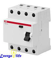 Дифференциальный автомат ABB Basic M C10/2/0,03 тип АС, защищает проводку, BMR515C10