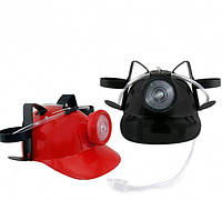 Шлем для пива МЧСника с фонарем