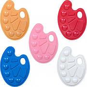 Палітра пластикова перламутрова на 10 кольорів «Irbis»