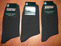 Носок мужской стрейч Житомир. р. 41-45. Черный