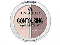 Essence контурной набор теней для век contouring eyeshadow set, фото 1