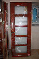 Дверной блок, в массиве сосны, под стекло