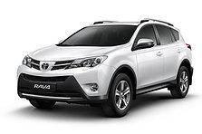 Дефлектор капота (мухобойка, отбойник капота) Toyota Rav4 2013-2016