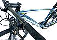 """Горный велосипед WINNER GLADIATOR 29"""" 18""""Серо-зеленый 2018, фото 4"""