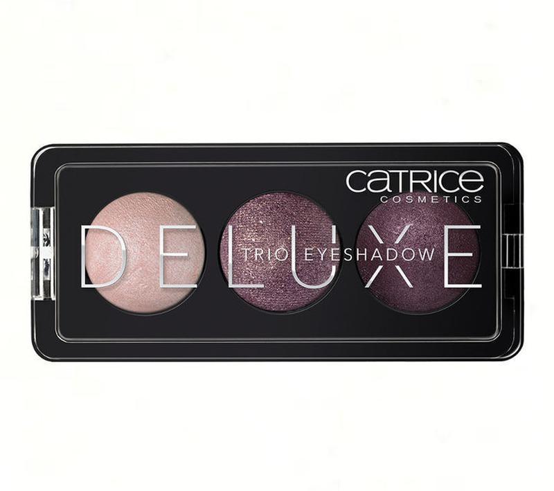 Catrice тени deluxe trio eyeshadow neu premium , фото 1