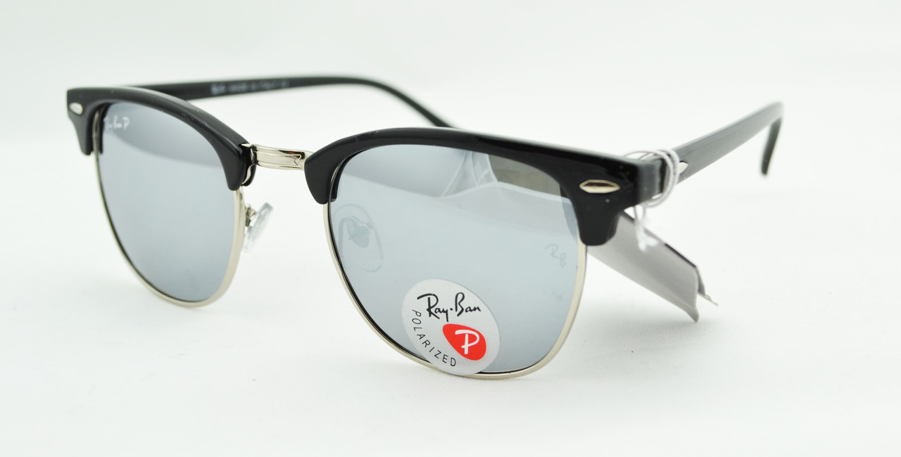 Солнцезащитные очки Ray Ban Clubmaster 3016 C7 поляризационные -  Оптово-розничный интернет-магазин
