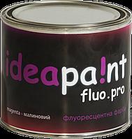 Флуоресцентная краска fluo.pro ideapaint 0,5 л малиновый