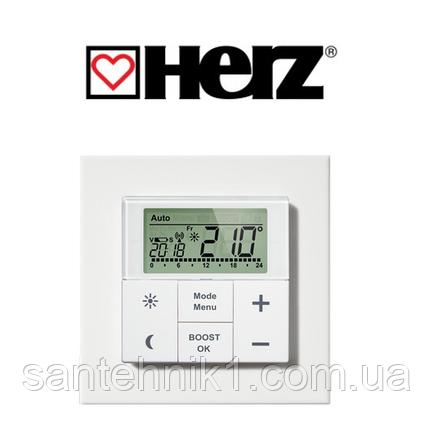 Настенный термостат HERZ для дистанционного управления термостатическими головками ЕТКF+, фото 2