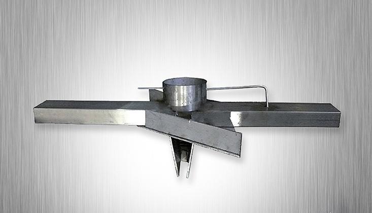 Распределитель воздуха на котел Stropuva S10 (для дров)